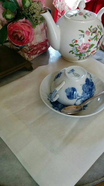 【Event・終了】手仕事のよろこび 1 <br>Tea Timeを優雅に演出するティーマットを作ろう