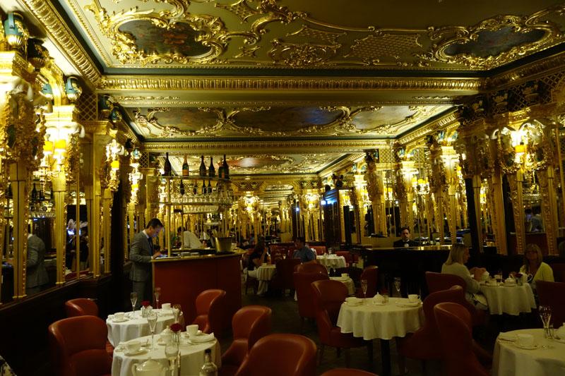 イギリスホテル編:Hotel Cafe Royal
