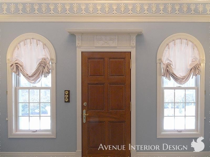 Neoclassical Style Austrian Blinds