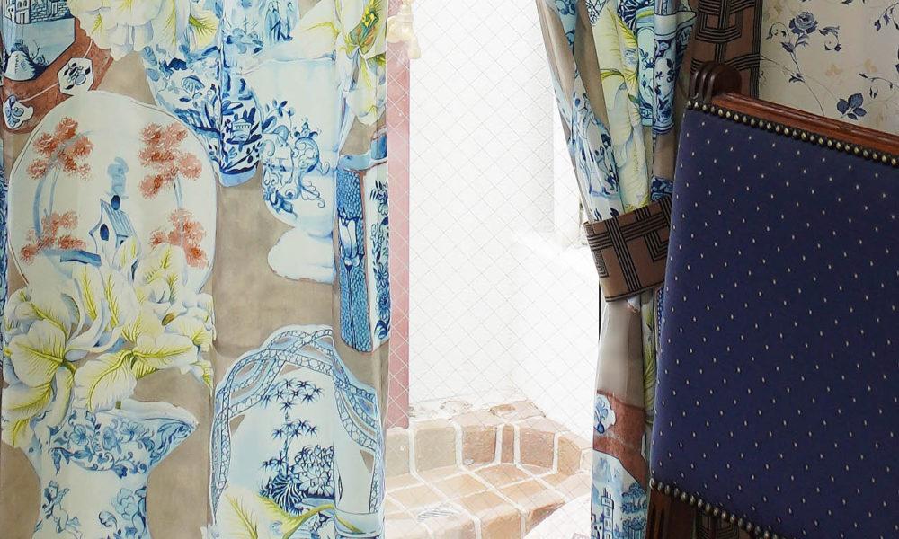 AVENUEデザインのカーテン施工例